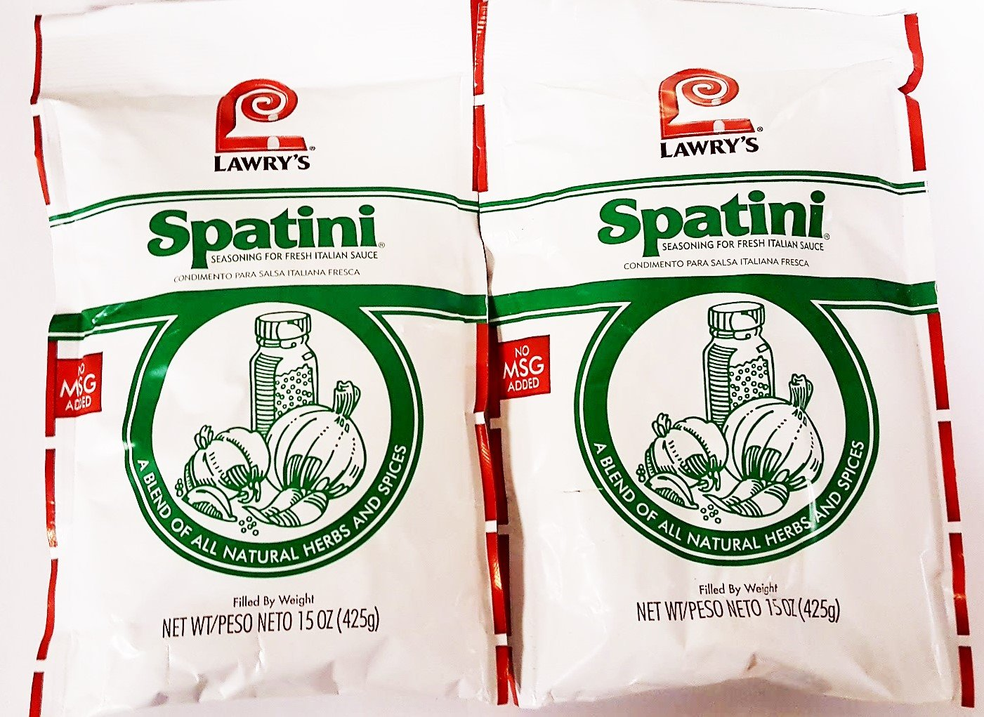 Lawry's Spatini Spaghetti Pasta Sauce Mix 15 Ounce (Pack of 2)