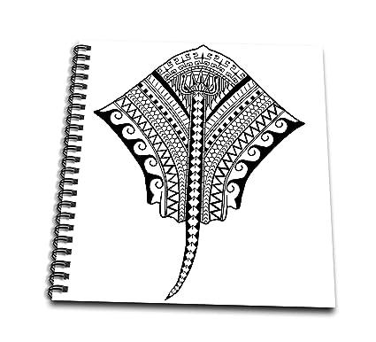 e4822dcf5 3dRose Macdonald Creative Studios – Tribal Animals - Polynesian Hawaiian  Tribal Artwork of a Stingray or