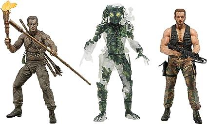 "NECA Predator Jungle Disguise Dutch 30th Anniversary 7/"" Action Figure Doll New"