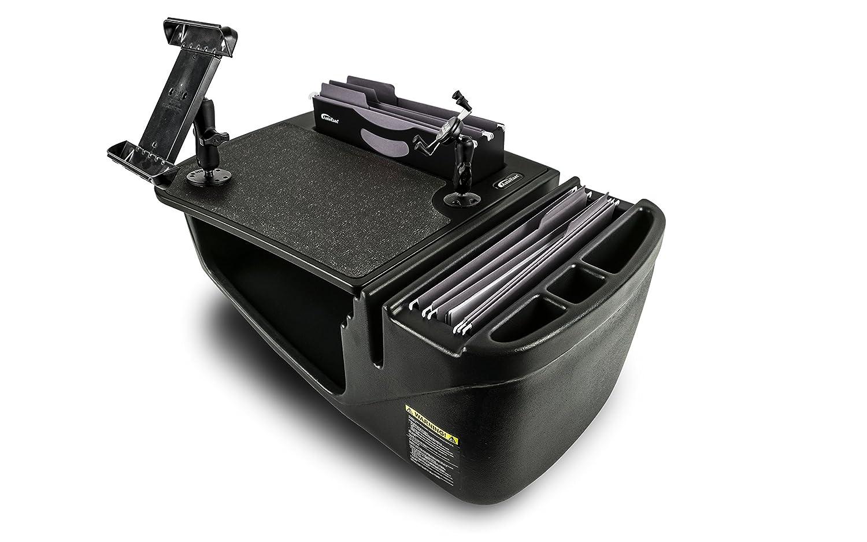 AutoExec AUE28006 FileMaster Built-in Power Inverter and X-Grip Phone Mount Car Desk AESFile-03 UC