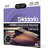 D'Addario EXP74CM Coated Phosphor Bronze Mandolin Strings
