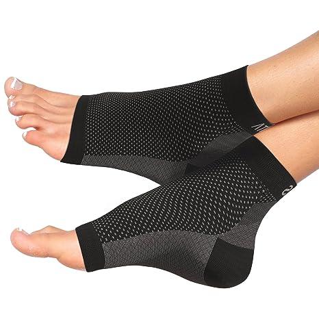 Atlas Fersensporn Bandage Fußbandage - Schmerzlinderung bei Plantarfasziitis, Knöchelschmerzen und Schwellungen - Premium Kom