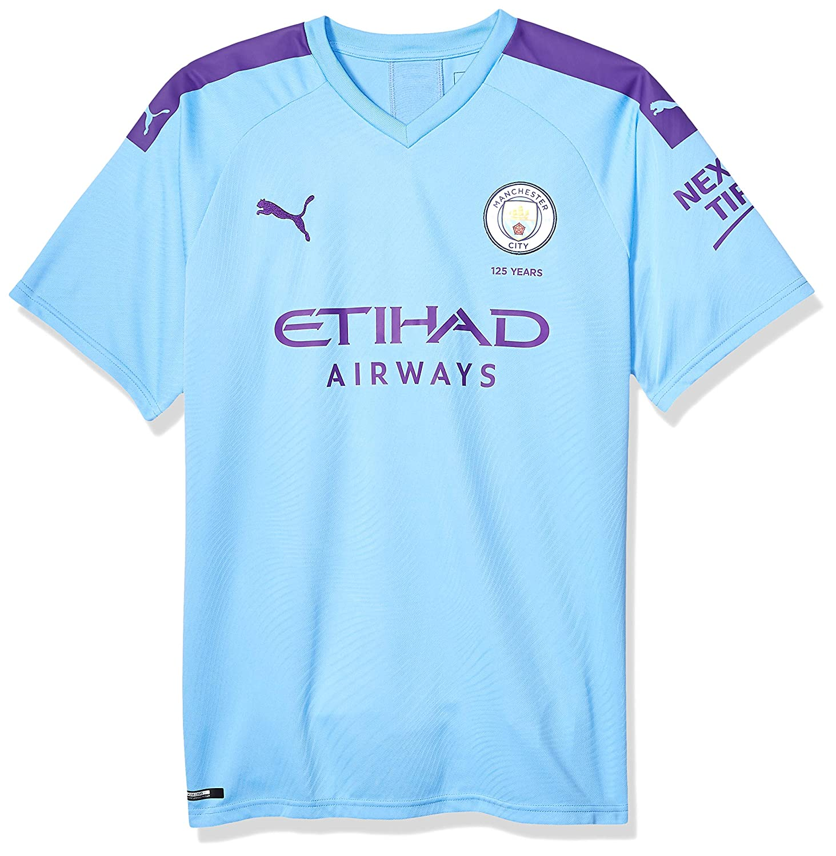 brand new d6355 e91d7 Amazon.com : PUMA Men's Manchester City Home Jersey 2019-20 ...