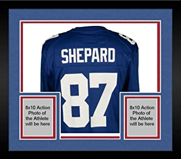 lowest price 6692c c9f4d Framed Sterling Shepard New York Giants Autographed Nike ...