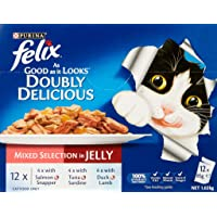 Felix Doubly Delicious Mixed Selection in Jelly, 60X85g