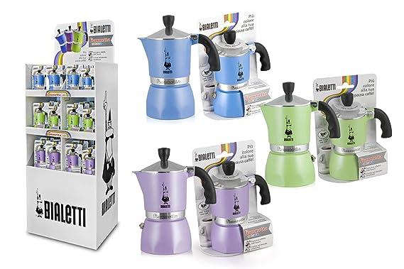Bialetti Fiammetta - Cafetera italiana, 1 taza, Azul: Amazon.es: Hogar