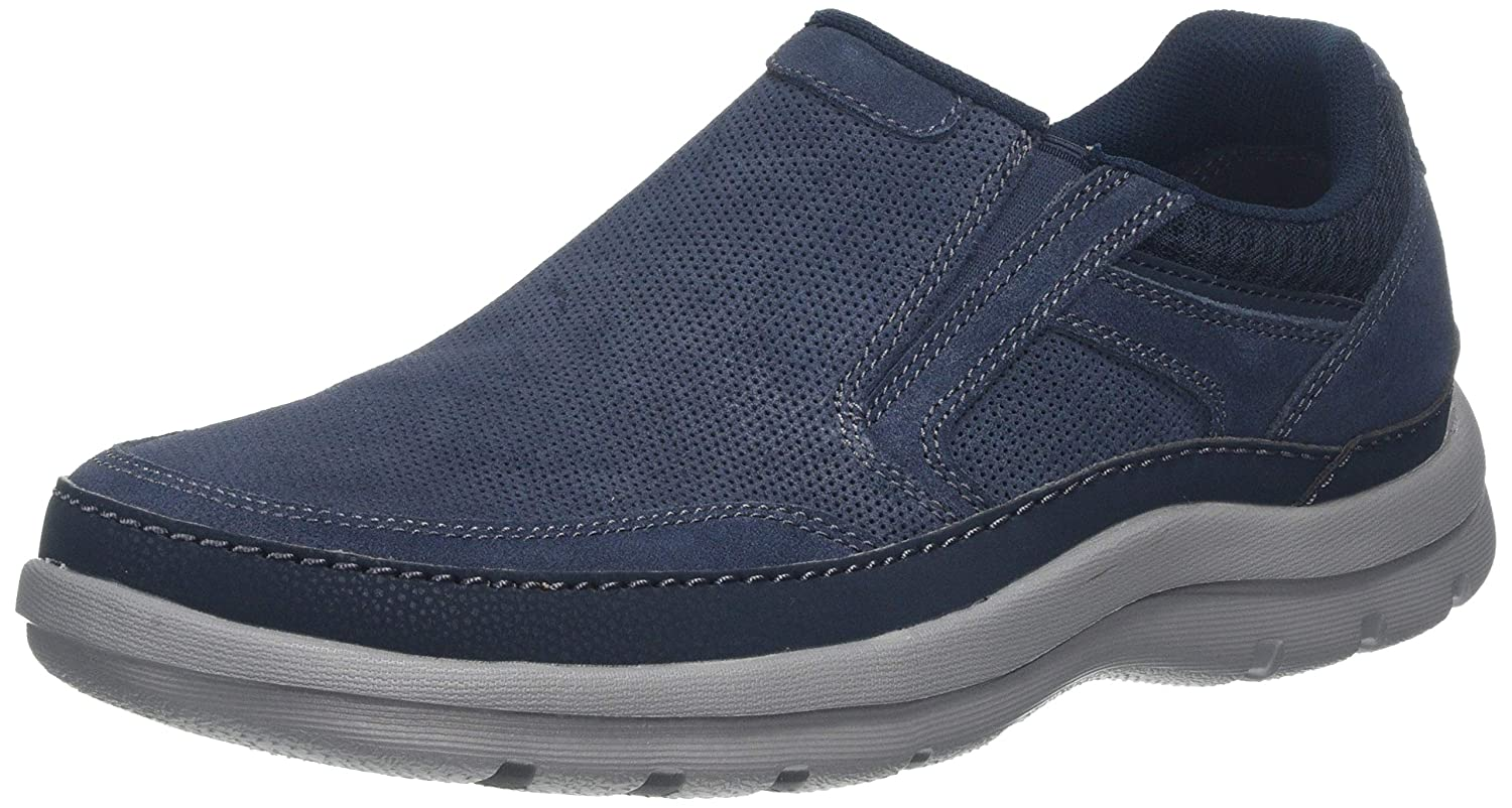 TALLA 46 EU. Rockport Get Your Kicks Double Gore Mudguard, Mocasines para Hombre