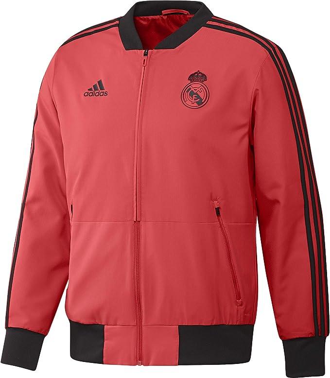 adidas Real Madrid EU Chaqueta, Hombre: Amazon.es: Ropa y accesorios