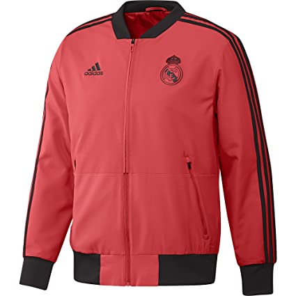 d10f4dff0632 Image Unavailable. Image not available for. Color  adidas 2018-2019 Real  Madrid UCL Presentation Jacket ...