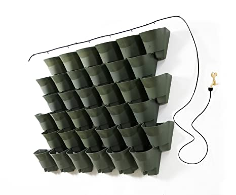 Fioriere verticali per esterno 30 vasi fai da te guida for Balconiere ikea