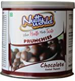 NuttyWorld Chocolate Coated Peanuts, 175 g