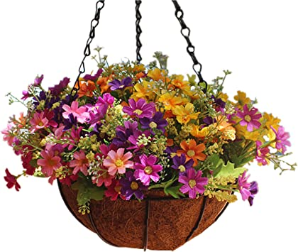 Artificial Potted Plants Fake Flower Home Room Balcony Garden Decoration