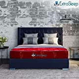 Extra Sleep Coir Mattress 4 Inch Back Support Orthopaedic Care, Cotton Breathable Fabric Mattresses, Queen Size Mattress (72x60x4)