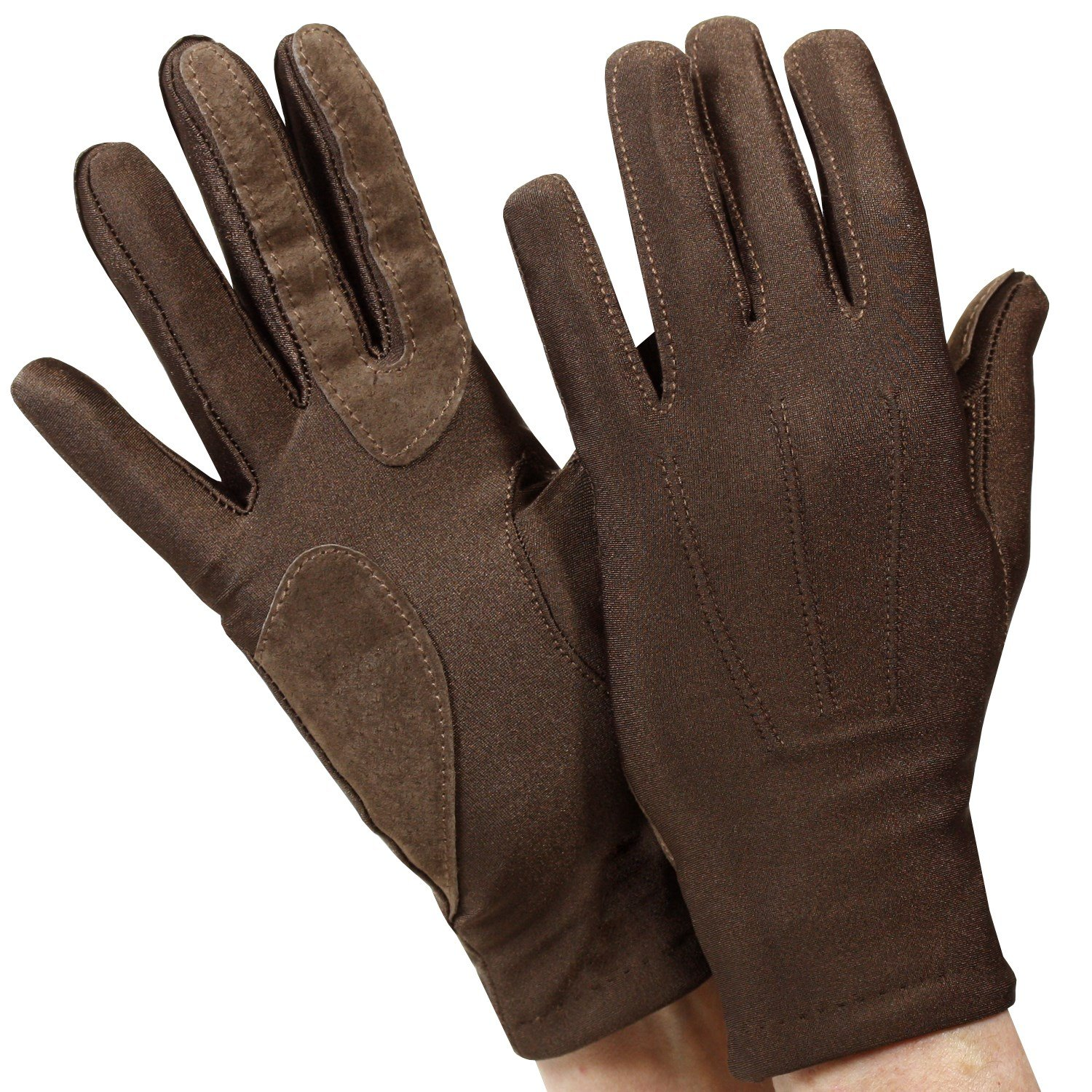 Isotoner womens leather gloves with fleece lining - Isotoner Womens Stretch Classics Fleece Lined Gloves One Size Brown At Amazon Women S Clothing Store
