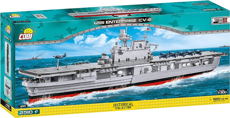 USS Enterprise 4815 CV-6 COBI Historical Collection