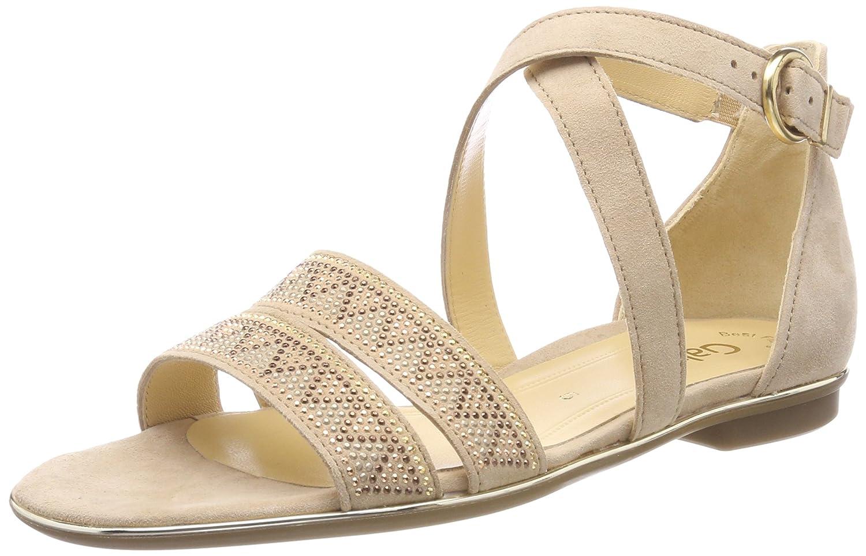 Beige (Camel) Gabor moda, Seali con Cinturino tuttia Caviglia Donna