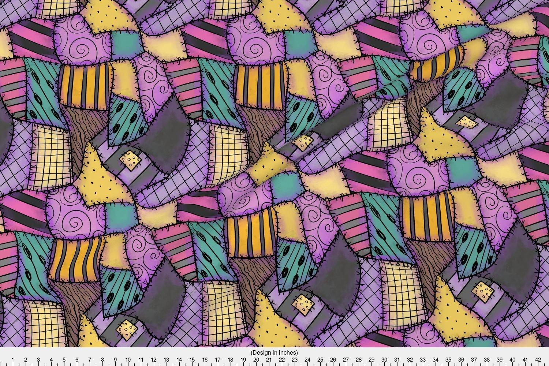 Amazon.com: Spoonflower Sally Fabric Ragdoll Scraps - Small by ...