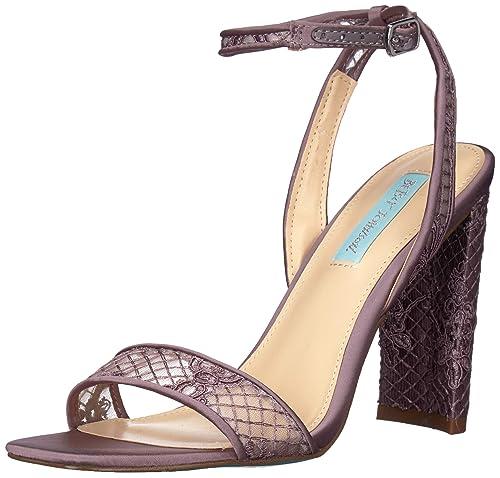 1743efce42a1e Blue by Betsey Johnson Women's Sb-kani Heeled Sandal: Amazon.co.uk ...