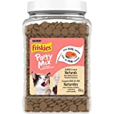 Friskies Party Mix Naturals Cat Treats, Seaside Crunch 454g Canister