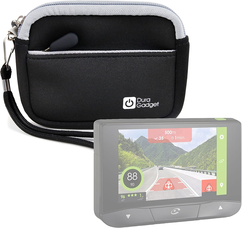 DURAGADGET Estuche De Neopreno Negro para GPS Coyote Mini + Correa Guardar Su Dispositivo!: Amazon.es: Electrónica