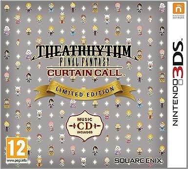 Theatrhythm Final Fantasy: Curtain Call Limited Edition [Importación Inglesa]: Amazon.es: Videojuegos