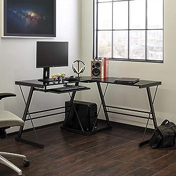 Walker Edison Soreno 3-Piece Home Office Desk
