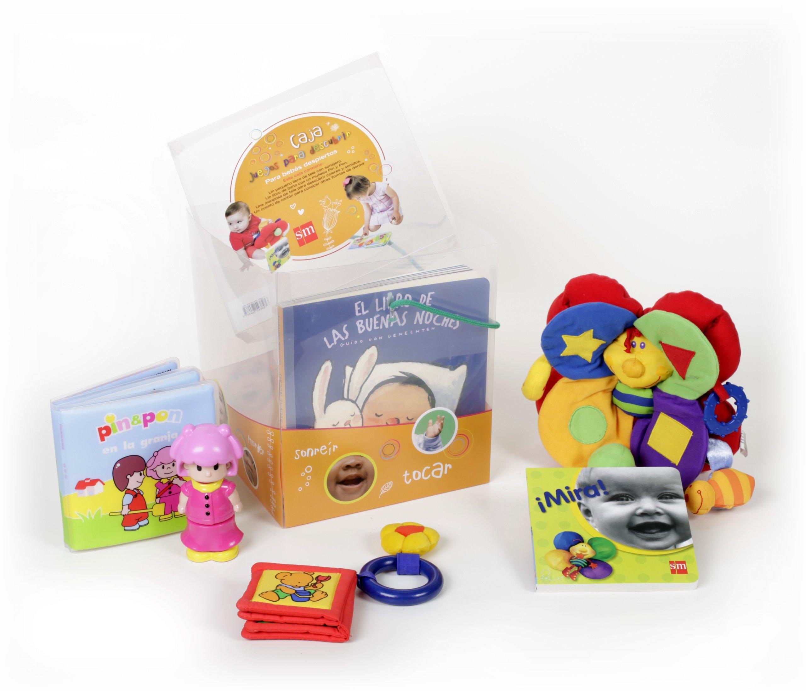 Caja regalo para bebés: Juegos para descubrir: 1 Cajas de ...