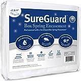 Split King SureGuard Box Spring Encasement Pack - 100% Waterproof, Bed Bug Proof, Hypoallergenic - Premium Zippered Six…