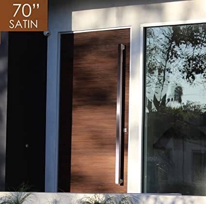 Pull Push 70 Inches Handles For Entrance Entry Front Door Interior
