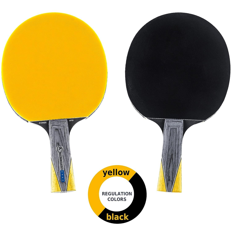 3a7159aa413 Killerspin Ping Pong Table Tennis Black Yellow Ball Bag Top ...