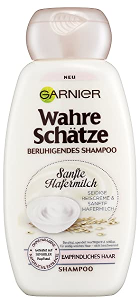 Garnier Wahre Schätze - Champú suave con leche de avena: Amazon.es: Belleza
