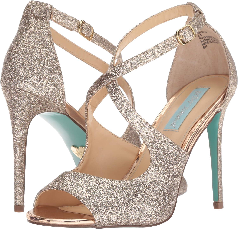 Betsey Johnson Women\'s Sb-tacie Heeled Sandal
