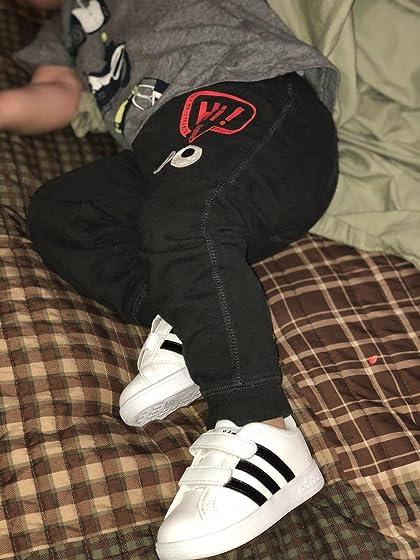 adidas Kids' Baseline CMF Inf Sneaker 5 stars