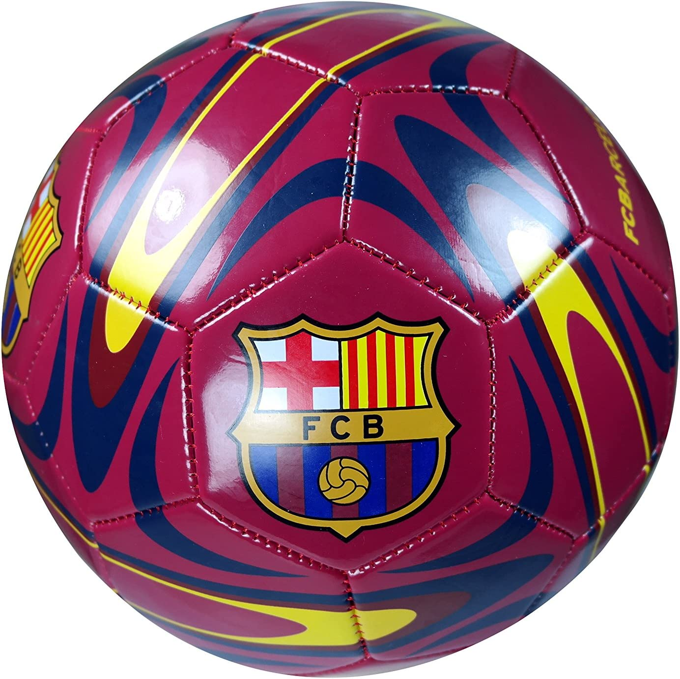 FC Barcelona Authentic Official Licensed Soccer Ball Size 5-02-9