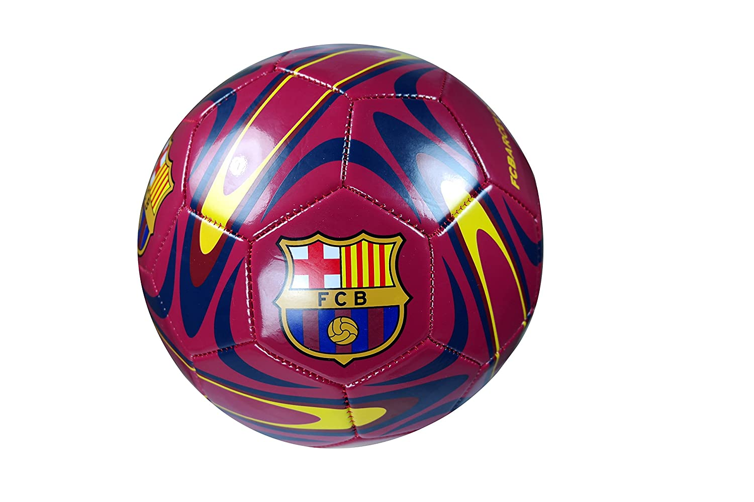 FC Barcelona Authentic Official Licensedサッカーボールサイズ5 – 04 – 9 B0785YS3GV