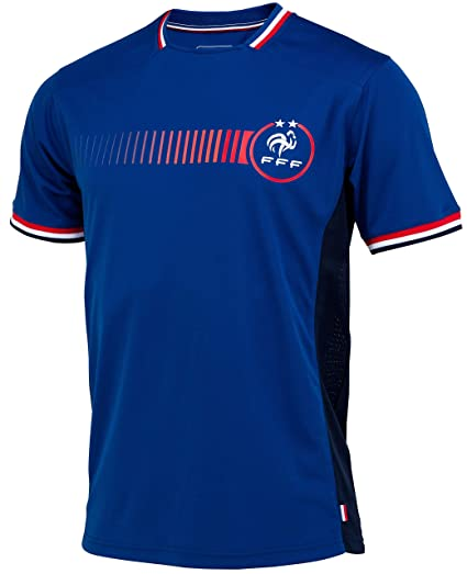 Equipe De France De Football Maillot Fff 2 étoiles Collection Officielle Taille Adulte Homme