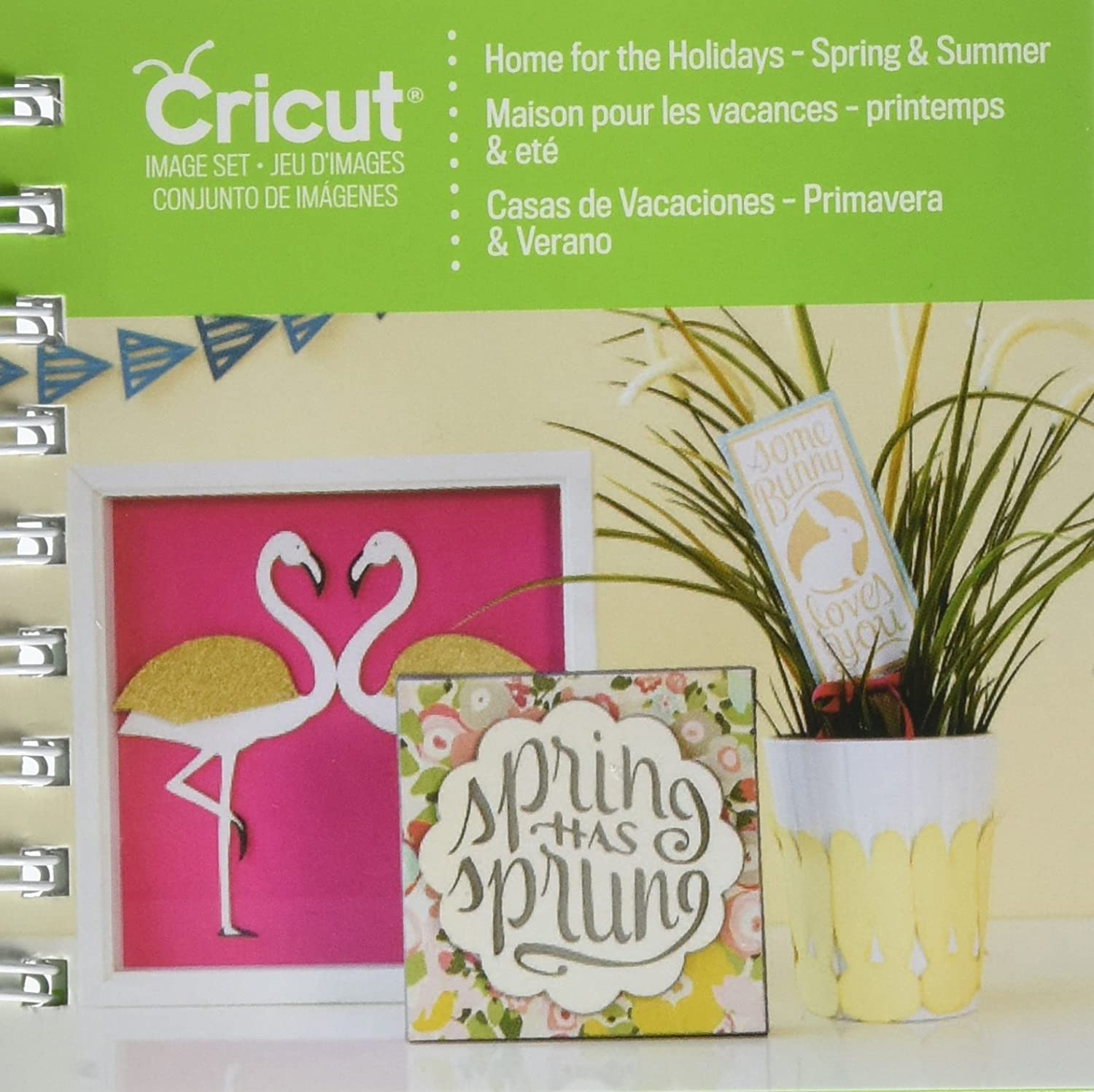 Cricut Projects Cartridge, Home for Spring and Summer Holidays