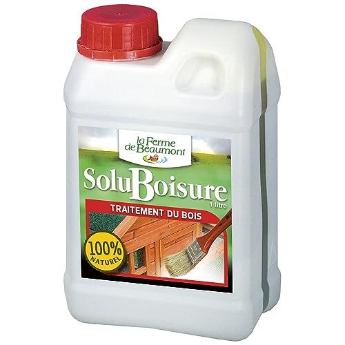 FERME DE BEAUMONT SoluBoisure 1 litre - traitement bois poulailler