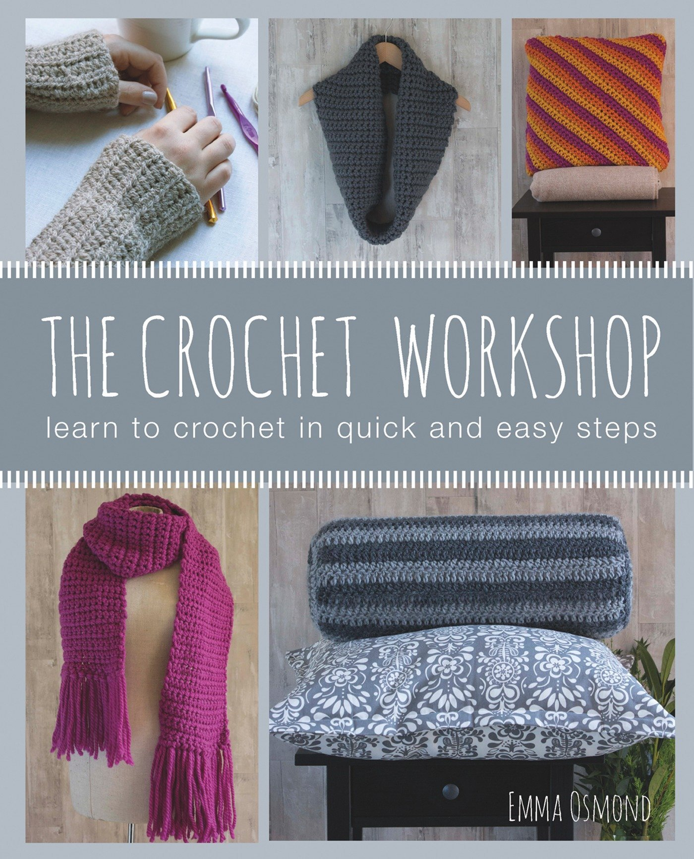 The Crochet Workshop Learn To In Quick And Easy Steps Emma Slip Knot Diagram Additionally Stitch Osmond 9781782212201 Books