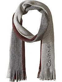 Calvin Klein Men s Striped Scarf d98df1fb11aa