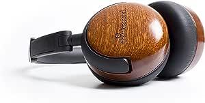thinksound On2 Wood on-Ear Monitor Headphone (Natural Black)