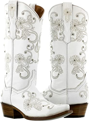 White Western Bridal Cowboy Boots | Boots
