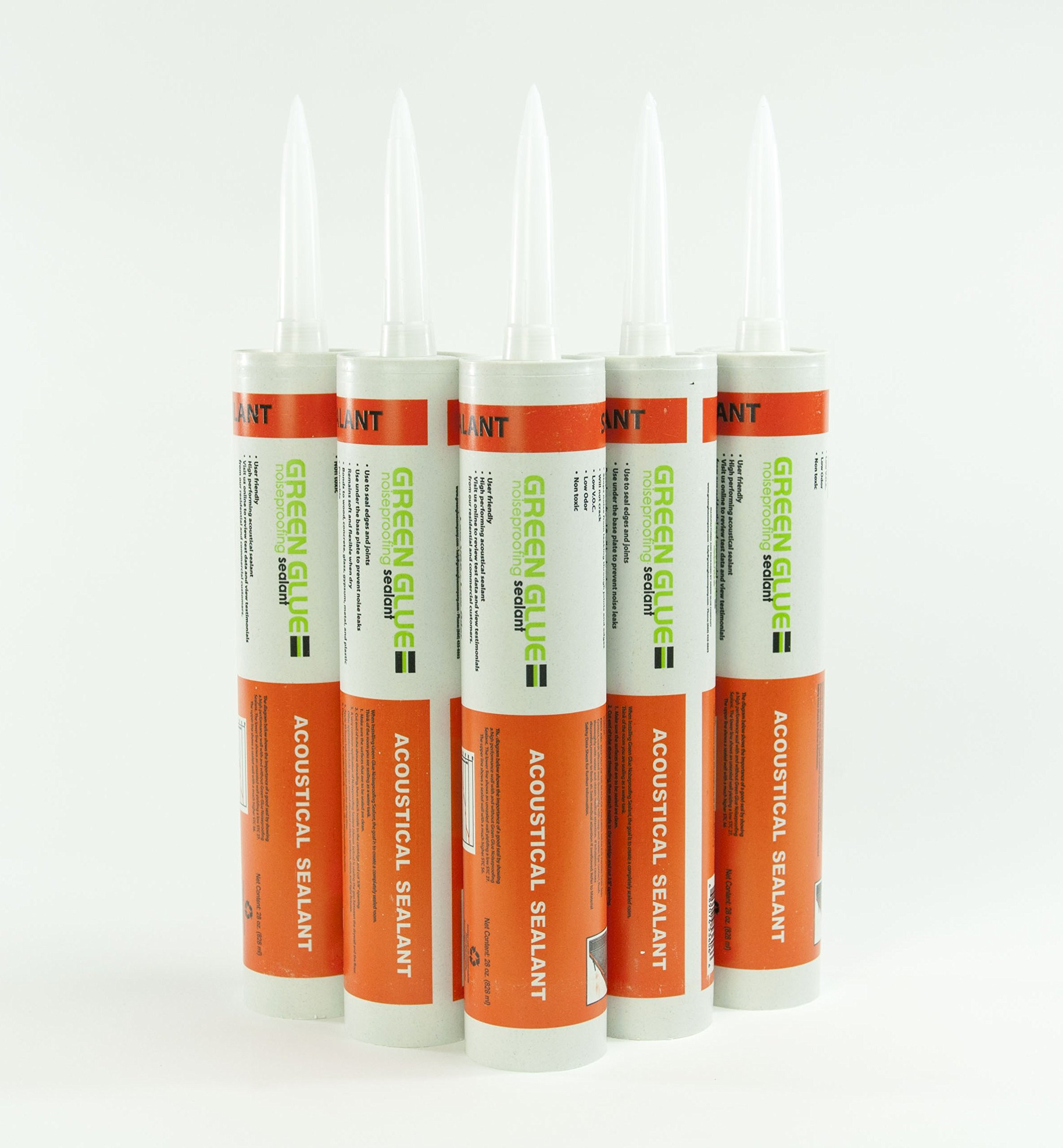 Green Glue Noiseproofing Sealant - 6 Tubes by Green Glue