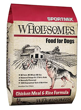 Amazon Sportmix Wholesomes Chicken Meal And Rice Dry Dog Food