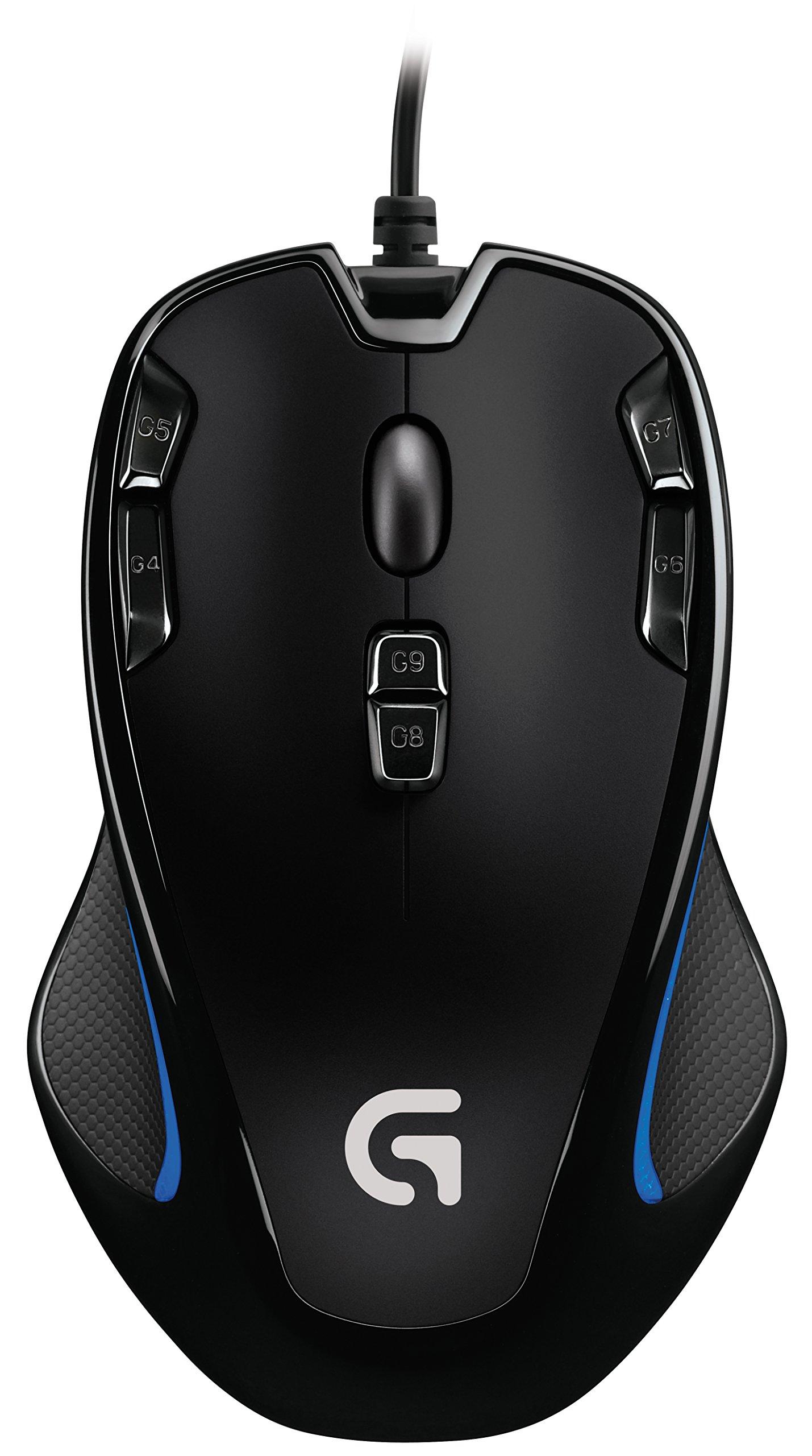 Mouse Gamer :  Logitech G300s Optical Ambidextrous  – 9 Prog
