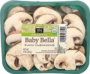 365 Everyday Value, Organic Baby Bella Sliced Mushrooms, 8 oz