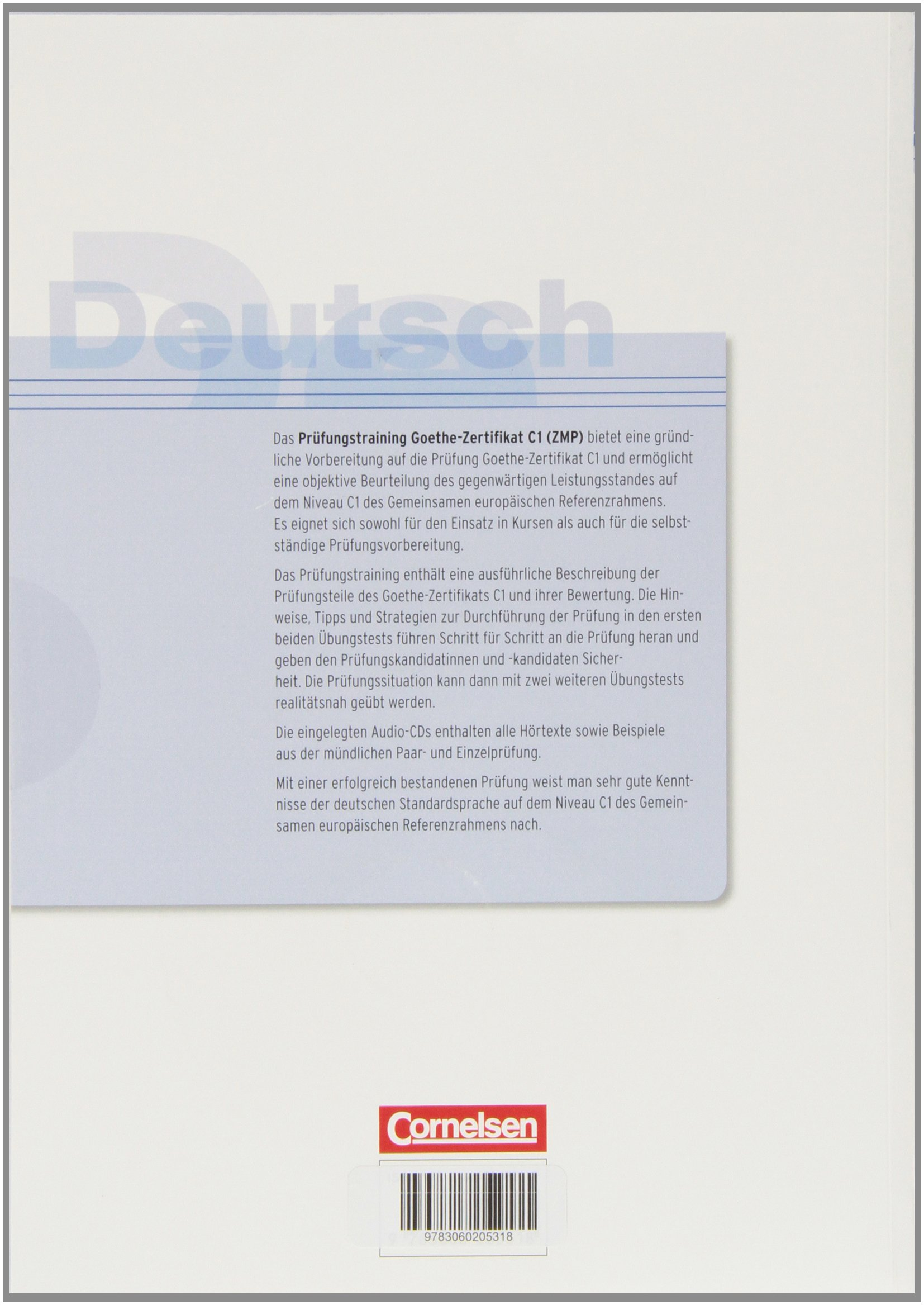 Prüfungstraining Daf C1 Goethe Zertifikat C1 Zentrale Gabi