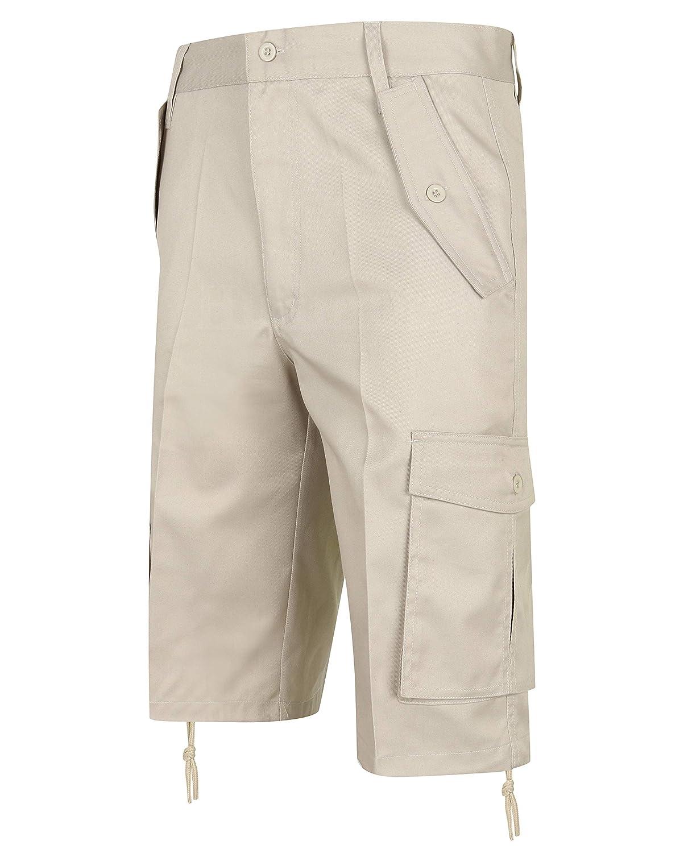 TALLA 30 Cintura. HuntaDeal - Pantalón Corto - para Hombre