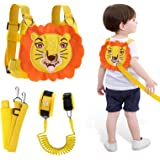 Lehoo Castle Toddler Leash for Walking, 4-in-1 Child Safety Harness Leash, Baby Harness with Safety Locks for Kids, Kids Leas