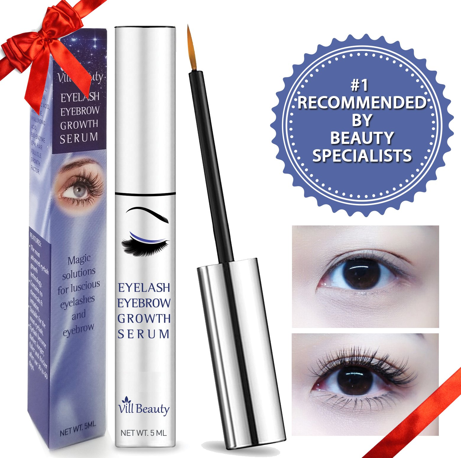 Eyelash Growth Serum Latisse Enhancer Babe Supplement Regrowth Lash